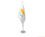 CYPRUS - DELUXE SATIN TABLE FLAG